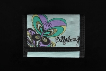 Billabong Butterfly Skyblue Wallet Geldbeutel