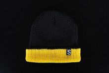 Brixton The Skateboard Mag Black Collabo Beanie
