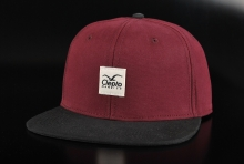 Cleptomanicx Badger 2 Tawny Port 6 Panel Cap
