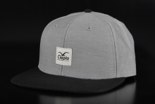 Cleptomanicx Badger Twill Pirate Black 6 Panel Cap