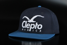 Cleptomanicx Super CI Ball Basecap Dark Navy