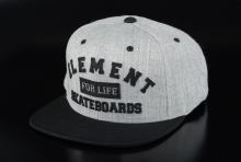 Element Basecap For Life Cap Black onesize
