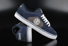 Element Heatley Navy Charcoal Skaterschuhe