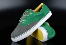 Element Skaterschuhe Topaz C3 Grey Green Sneaker