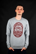 Element Timber Googles Crew Grey Heather Pullover