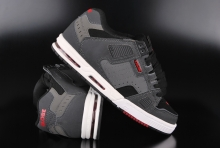 Globe Sabre Grey Black Red Sneaker