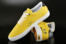 Globe Sneaker Cleptomanicx Lighthouse Yellow