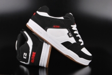 Globe Scribe Black White Red Schuhe