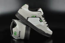 Globe Scribe Grey Black Lime Skaterschuhe