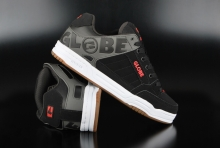 Globe Tilt Black Charcoal Red Skaterschuhe