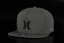 Hurley Dri-Fit Icon 00A Dark Grey Snapback Cap