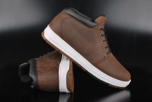 K1X MTP Sport Dark Brown Mid Top Sneaker