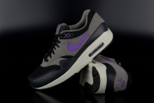 Nike Air Max 1 Essential Black Hyper Grape Light Ash Sneaker