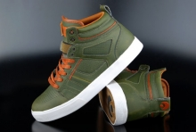 Osiris Raider Army Brown White Schuh