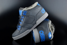 Osiris NYC 83 MID SHR Black Blue Camp Winterschuh