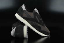 Reebok CL Nylon Breathability Black Urban Grey Sneaker