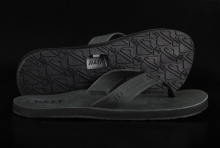 Reef Draftsmen Black Dark Grey Sandale