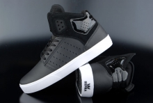 Supra Atom Black White High-Cut Sneaker
