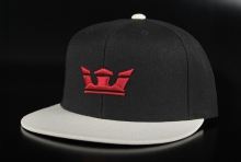 Supra Icon Snap Black White Cap, One Size
