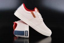 Supra Stacks Vulc II Off White Navy White Sneaker