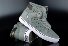 Supra Sneaker Vaider Charcoal Black Gold
