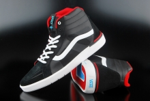Vans LXVI Parameter Black Red Sneaker