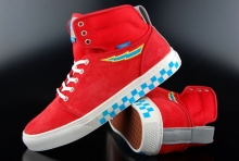 Vans OTW Sneaker Alomar Chris Kong Red High-Top Sneaker