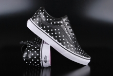 Vans Old Skool Leather Polka Dots Black
