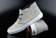 Vans Chukka Slim Sweater Gray Mid-Cut Sneaker