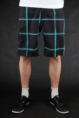 Billabong Hose Serious Baggy Boardshorts Black Aqua
