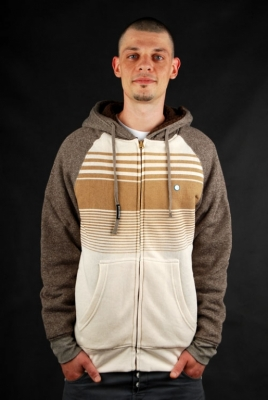 Billabong Balance Hoodie Sherpa Clay Heather Pullover