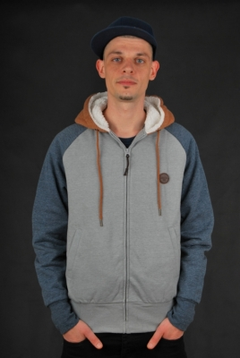 Billabong Bock Sherpa Jacke Grey Heather