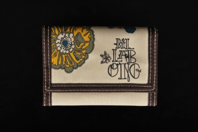 Billabong Flower Wallet Beige Geldbeutel