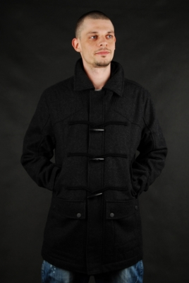 Billabong Baron Mantel Black Heather Parka