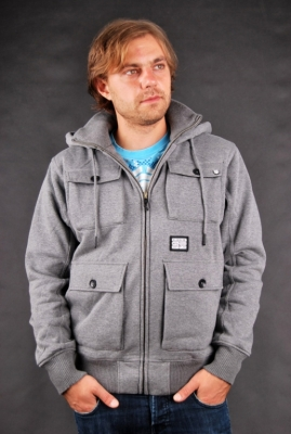 Billabong The Grain Grey Heather Übergangsjacke