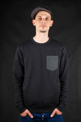 Billabong Pullover Mercenary Contrasty Charcoal Marley