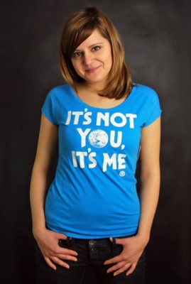 Element T-Shirt Not You Blue Heather