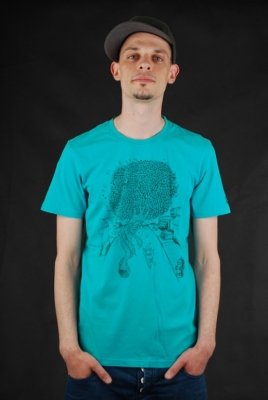 Element Bomb Hill Shirt Cyan