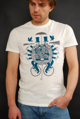 Element Coat of Arms T-Shirt Off White