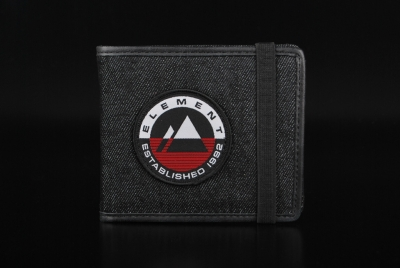 Element Endure Flint Black Wallet Geldbörse