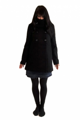 Element Jacke Lova Black Wintermantel