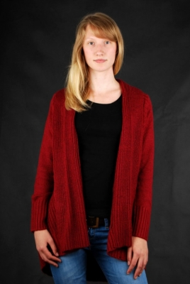 Element Strickjacke Sanfran Crimson Red Cardigan