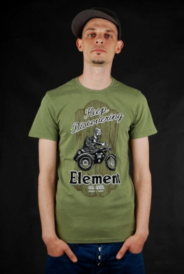 Element Shirt Timber Keep Discover Moss