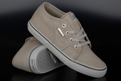 Harper Grey Grey Monks Canvas Skaterschuhe