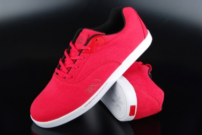 K1X Cali Red White Black Low-Top Sneaker