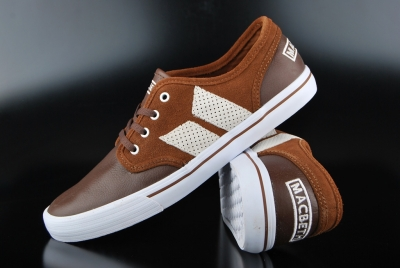 Macbeth Langley Schuhe Dark Brown/Medium Brown