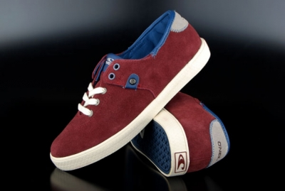 Oneill Sneaker Maui LTR Red Mahogany Suede