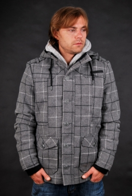 Sublevel Jacke Grey Heather Herren