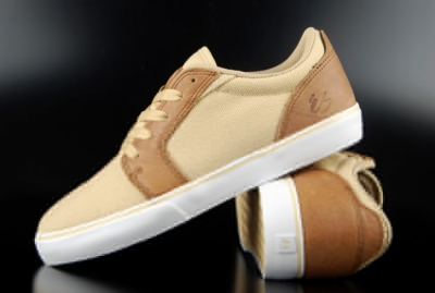 éS First Blood Beige White Low Cut Sneaker